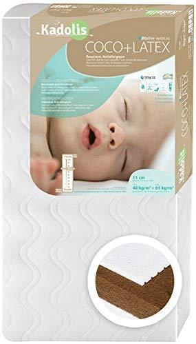 Matelas coco latex pour lit bébé